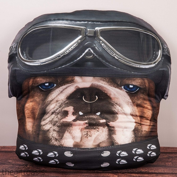 Boutique del regalo cheeky baldrick cuscino bulldog for Regalo tutto gratis